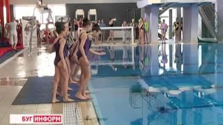 2015-04-27 г. Брест. Республиканские соревнования по синхронному плаванию. Телекомпания Буг-ТВ.