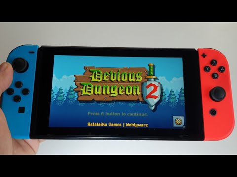 Devious Dungeon 2 Nintendo Switch gameplay