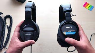 Sennheiser HD 280 Pro vs Sony MDR-7506 // Comparison Review In-Depth | Pick Your Favorite Headphones
