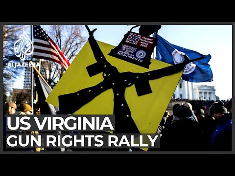 Gun rights supporters rally in US state of Virginia
