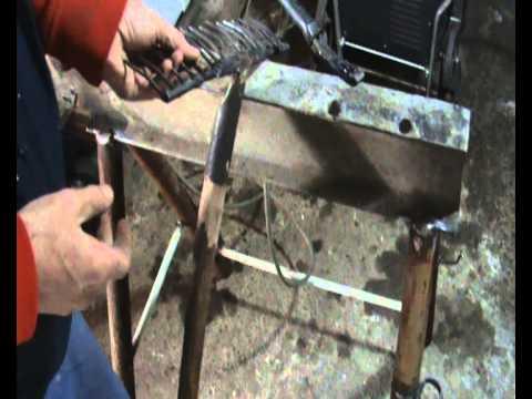 conversión de horquilla o laya en rastrillo ( reciclando herramientas de jardín ) 2 de 2