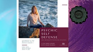 Psychic Self Defense. 5 Week Course
