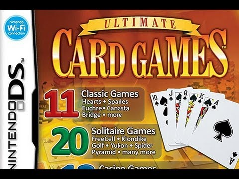 CGRundertow ULTIMATE CARD GAMES for Nintendo DS Video Game Review