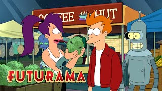 FUTURAMA | Season 8, Episode 9: A Trip To The Farmers Market | SYFY