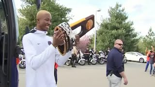 Hero's Welcome For Virginia Basketball After Historic NCAA Win