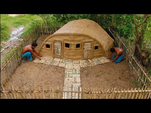 This Is A Crazy Mud House