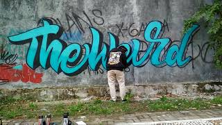 Graffiti Lettering The Weird Graffiti Indonesia Timelapse