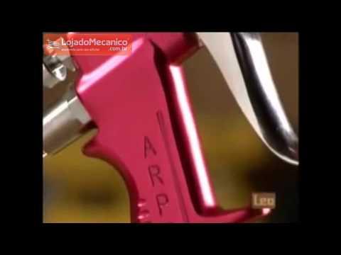 Pistola de Pistola tipo Sucção 1,2mm 1 Litro - Video