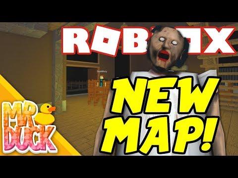 roblox granny horror game