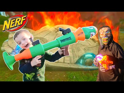 Sneak attack with fortnight nerf rocket launcher / alien first contact