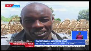 Monday Night News: Soin youth group has become a household in the rift making wooden seats-'mkunjo'