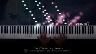 TWICE「The Best Thing I Ever Did」Piano