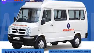 Road Ambulance Service in Ranchi and Bokaro for ICU facilities