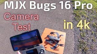 MJX Bugs 16 Pro Camera Tests in 4k