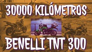 30000 Kilómetros Benelli tnt 300