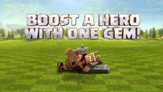 Video Clash Of Clans Valentine's Day Hero Boost