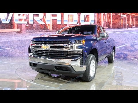 2019 Chevrolet Silverado – 2018 Detroit Auto Show