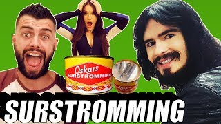 Irish People Try SURSTROMMING Challenge For First Time!! - (( World's Smelliest Food ))