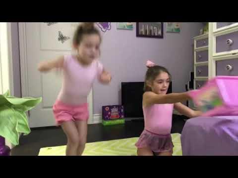 Funny gymnastics challenge
