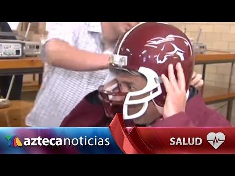 IPN crea casco inteligente para evitar lesiones en el fútbol americano