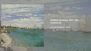 Goldberg Variations, BWV. 988