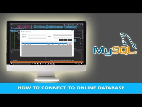 How To Connect VB.Net To Online Database   CRUD Operation