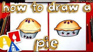 How To Draw A Pie - Happy Pi Day!