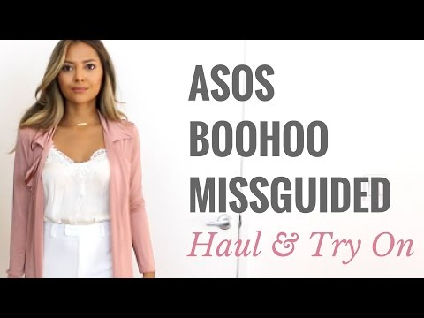Asos Boohoo and Missguided Try On Haul