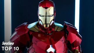 Top 10 IRON MAN Armors [2017] | Marvel Cinematic Universe