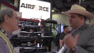 SHOT Show 2018 – Air Force Airguns; New Texan Stuff; RAW!!; 4500 psi Air Compressor & New Valve Kit