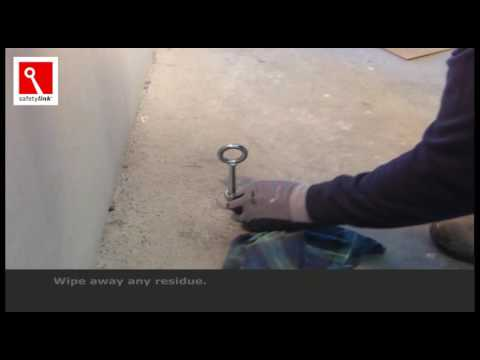 Installation of SafetyLinks ConcreteLink