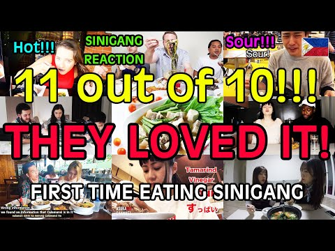 10 Amazing Foreigner Reactions to Filipino Sour Soup Sinigang   They Loved It!