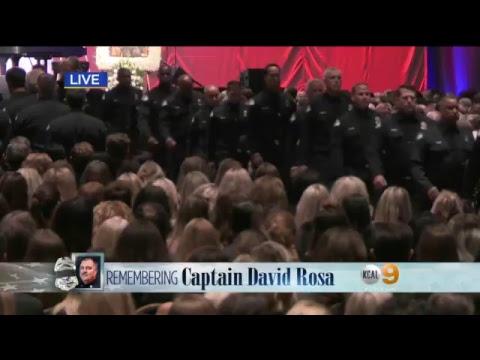 WATCH LIVE: Memorial service for fallen Long Beach firefighter.
