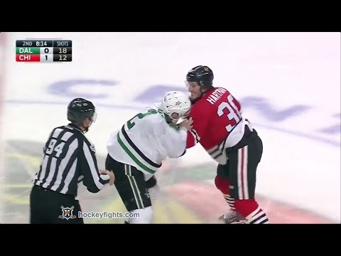 Ryan Hartman vs. Dan Hamhuis