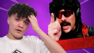 DrDisrespect on the FaZe Jarvis BAN