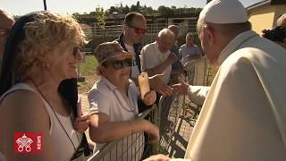 60 seconds to relive Pope Francis' Journey in Camerino 2019.06.16