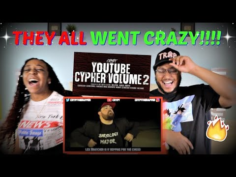 """Crypt """"YouTube Cypher Vol. 2 (Mac Lethal, Quadeca, ImDontai, Devvon Terrell, VI Seconds)"""" REACTION!"""