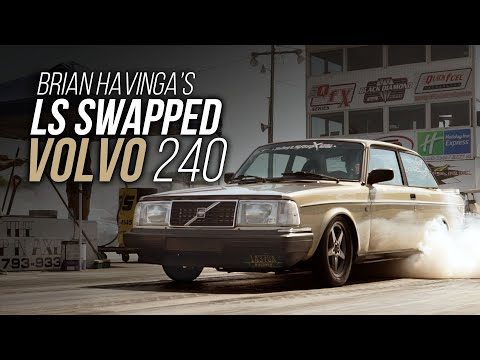 Turbo LS powered Volvo 240 at LS Fest East 2019!