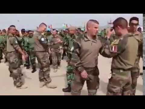 Indonesian Army Happy Dance Maumere