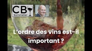 Vignette de L'ordre des vins est-il important ?