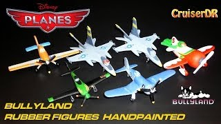 Disney Planes rubber models handpainted from Bullyland