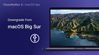 How to downgrade from macOS Big Sur to Catalina