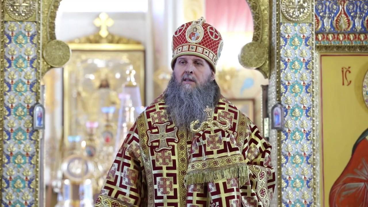 Литургия в день отдания Пасхи. Проповедь митрополита Даниила