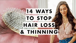 How to Stop Shedding, Thinning & Hair Loss