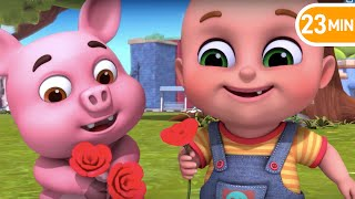 Ringa Ringa Roses | Jugnu Kids Nursery Rhymes and Baby Songs
