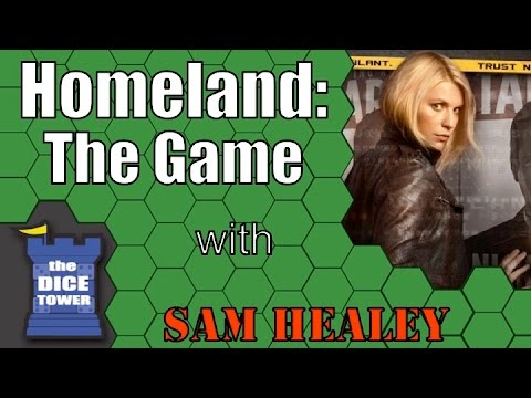 Homeland: The Game - A Dice Tower Review with Sam Healey