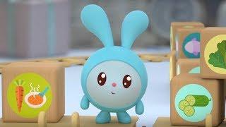Малышарики - Съешь меня!  - серия 131 - Обучающие мультфильмы для малышей - про обед