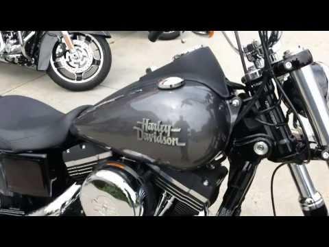 2014 Dyna Street Bob Harley-Davidson FXDB Charcoal Pearl