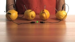 Fruit-Power Battery - Sick Science! #080