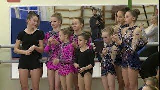 В «Манеже» прошёл Кубок Новгородской области по спортивной акробатике